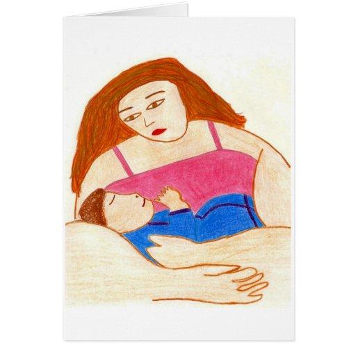 Mamá-Niño Tarjeta