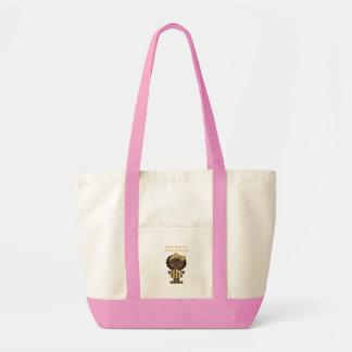Mamá orgullosa de una belleza ghanesa bolsas