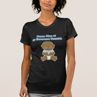 Mamá orgullosa de una bendición etíope camisetas