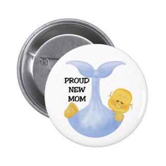 Mamá orgullosa del bebé pin