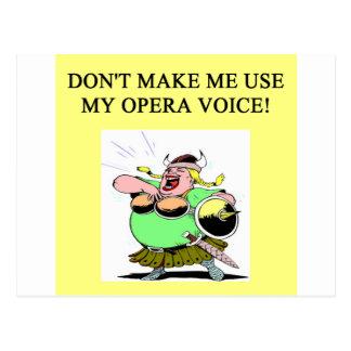 mamá; voz de la ópera de s tarjetas postales