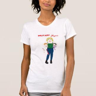 Mamáes militares camiseta