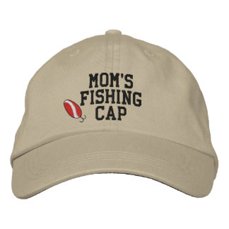 Mamáes que pescan el gorra bordado casquillo gorro bordado
