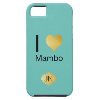 Mambo juguetónamente elegante del corazón de I Funda Para iPhone SE/5/5s