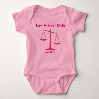 Mameluco 2018 del bebé del colegio de abogados