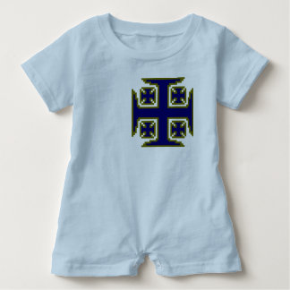 Mameluco azul del bebé de Kross™