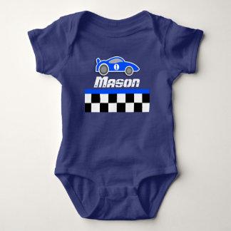 Mameluco conocido de encargo del bebé del coche
