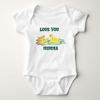 Mameluco del bebé camisetas