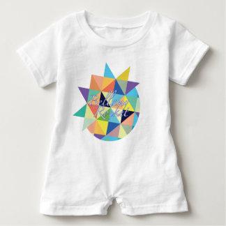 Mameluco del bebé de Bellamy Rocket Camiseta