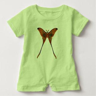 Mameluco del bebé de la mariposa