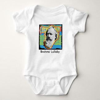 Mameluco del bebé de la nana de Brahms del arte