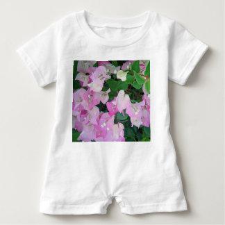 Mameluco del bebé del *Bougainvillea* Camiseta