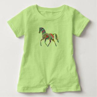 Mameluco del bebé del caballo