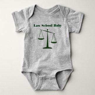 Mameluco del bebé del colegio de abogados (tinta