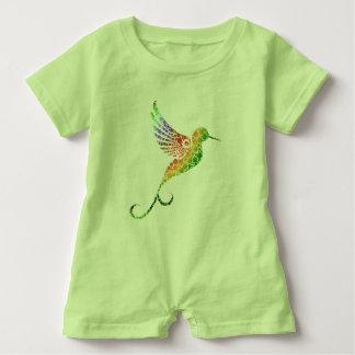 Mameluco del bebé del colibrí