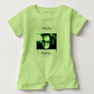 mameluco del bebé del colorete del la del rikki camisetas