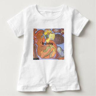 Mameluco del bebé del siluro de Brainfog Camiseta