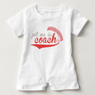 Mameluco del béisbol camisetas