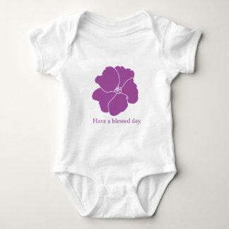 MAMELUCO del NIÑO de la violeta africana Camisetas