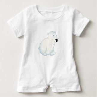 """Mameluco del oso polar del """"pequeño del bebé sello"""