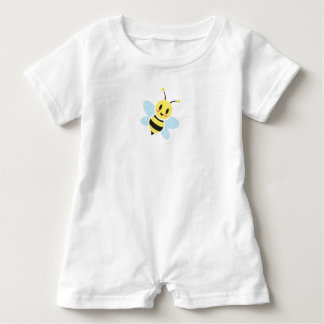 Mameluco feliz del bebé de la abeja
