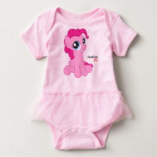 Mameluco para bebés con tutú, Rosa