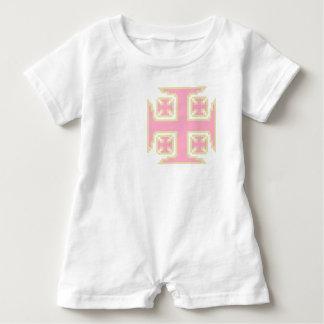 Mameluco rosado del bebé de Kross™