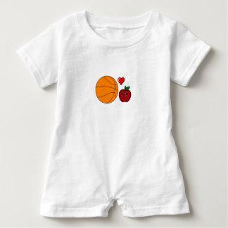 Mameluco tonto camiseta