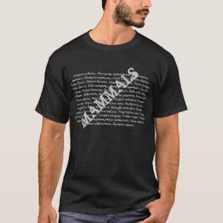 Mamíferos latinos camiseta