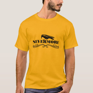 "Man T-Shirt ""Nevermore"" Camiseta"