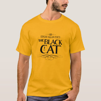 "Man T-Shirt ""The Black Cat"" Camiseta"