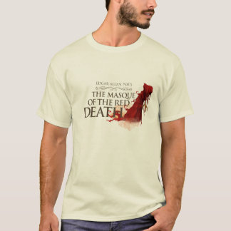 "Man T-Shirt ""The Masque of the Red Death"" Camiseta"