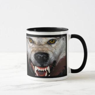 Manada de lobos taza