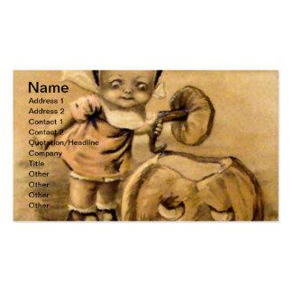 Mañana de Halloween (tarjeta de Halloween del Tarjetas De Visita