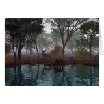 Mañana de niebla felicitaciones