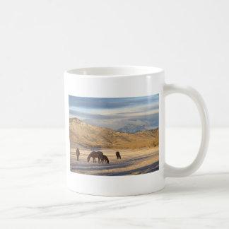 Mañana del país de Colorado de la montaña rocosa Tazas De Café