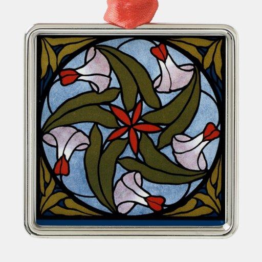 Mañana Glorys de Nouveau del arte Ornamentos Para Reyes Magos