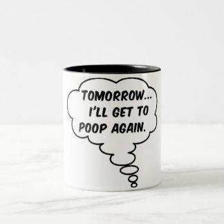 Mañana… Taza De Dos Tonos