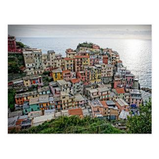 Manarola - el Cinque Terre - postal de Italia