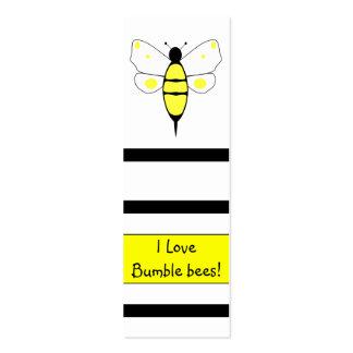Manchado manosee la señal de la abeja plantillas de tarjeta de negocio