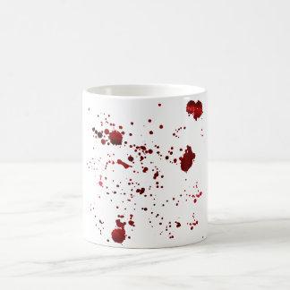 Manchas de sangre taza clásica