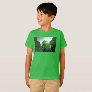 Manche la camiseta de los niños del ocelot