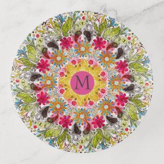 Mandala abstracta colorida
