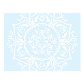 Mandala ártica postal