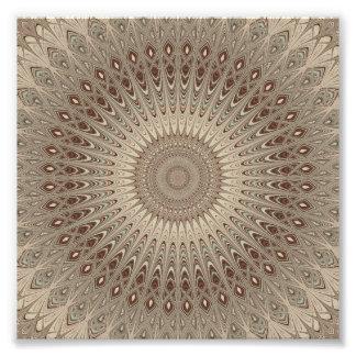 Mandala beige foto