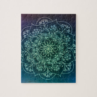 Mandala bendecida de la lluvia puzzle