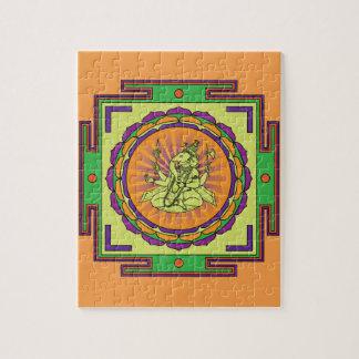 Mandala de Ganesha Puzzle