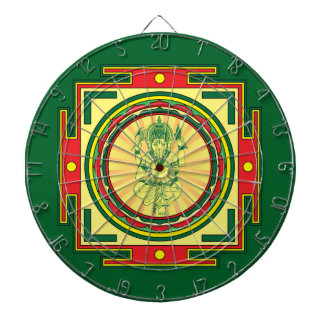 Mandala de Ganesha Tablero Dardos