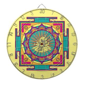 Mandala de Ganesha Tablero De Dardos