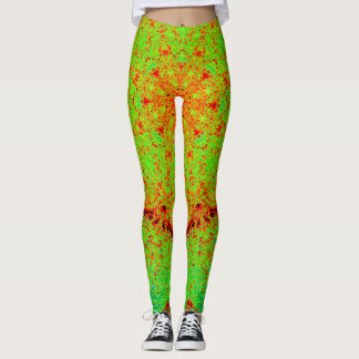 Mandala de Green&Orange Leggings
